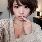 【H超大好きギャル☆】可愛い顔で嬉しそうにチ◯ポくわえ込むH大好きギャル