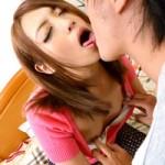 【キスだけで濡れ☆】ガマンできない…発情しきってキスだけで目がトロン☆