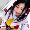【美乳レイヤーハメ撮り】美乳レイヤーが人気同人ゲームのキャラコスハメ撮り☆