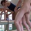 【スク水少女レイプ!】優しいコーチの仮面を脱ぎ捨てスク水少女を犯す鬼畜!