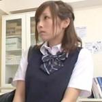 【元AKBメンバー保健室H】元AKBの学園エロ生活☆保健室でセクハラ教師と拘束SEX♪