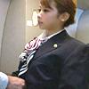 【機内で淫乱サービス】フライト中に発情したCAがコャRラBれて激SEX♪
