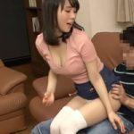 【美尻に発情してSEX】じゃれて膝に乗ってきたJDの美尻がガマン出来ない!